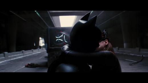 batman catwoman kiss öpüşme